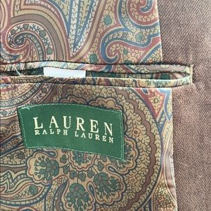 Lauren Ralph Lauren Suits & Blazers - RALPH LAUREN Brown Faux Suede Sports Coat 4OR